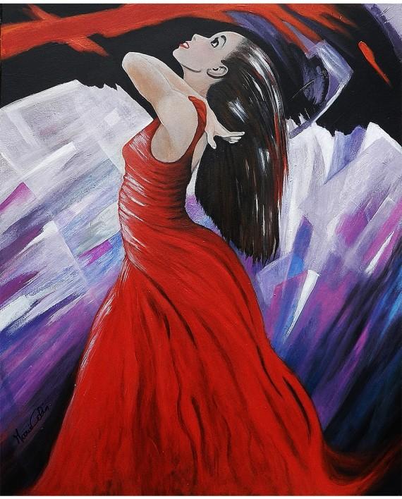 N°3 La Danseuse Rouge
