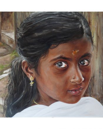 N°1 Ferveur au Kerala 60x60