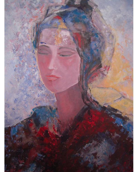 N°4 La femme au turban