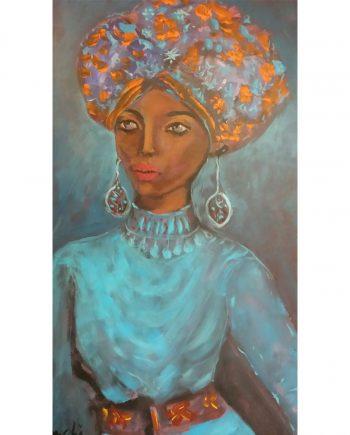 N°3 Femme au turbant